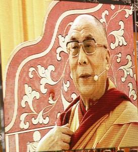 Dalai Lama 2009 in Frankfurt